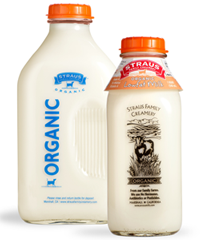 straus organic low fat milk
