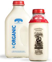 straus organic whole milk